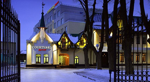 Courtyard by Marriott - Фасад