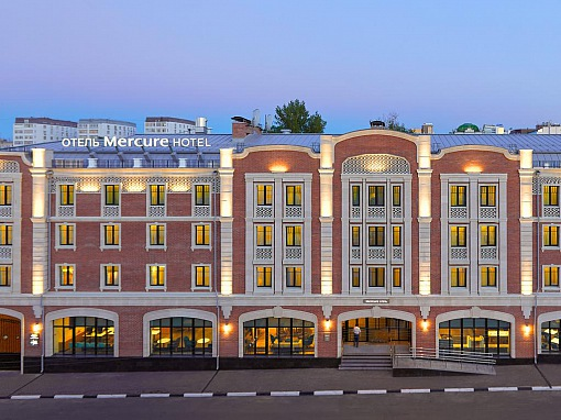 Mercure - Фасад 2